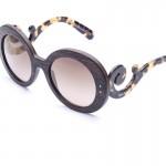 Prada Minimal Baroque PR27RS UBT-4O2 Óculos de Sol