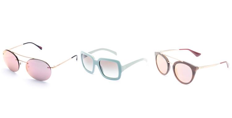 oculos da Prada colorido