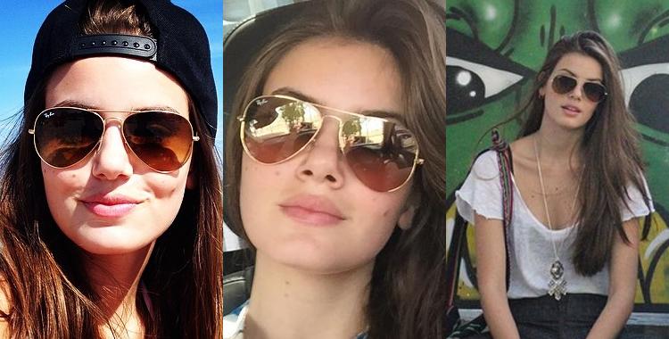 Camila Queiroz Ray Ban Aviador