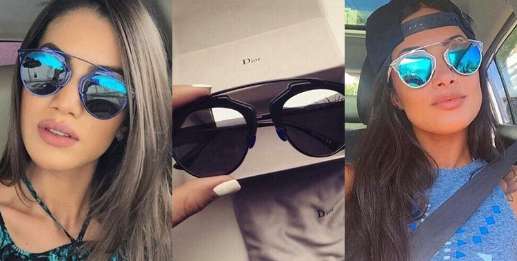 oculos de sol Dior So Real celebridades