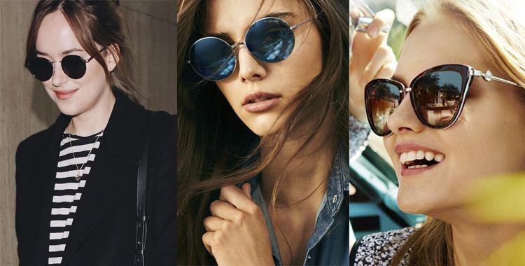5197ee14dfd24 Os óculos de sol Michael Kors  Detalhes e riqueza.