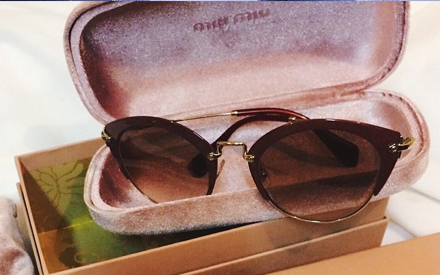 Novo Miu Miu Cat Eye