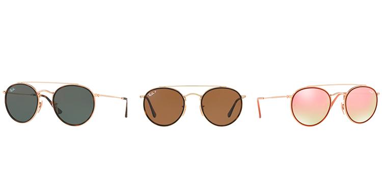 3cbbece6e8d14 Só na Oculum você pode comprar os seus novos óculos de solda Ray BanRound  Duble Bridge sem preocupação. Garanta os maiores lançamentos da grife com  as ...