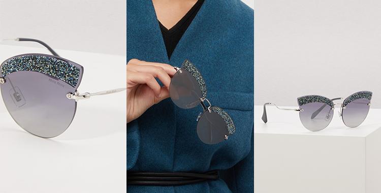 A nova coleção de óculos Miu Miu MU 58TS