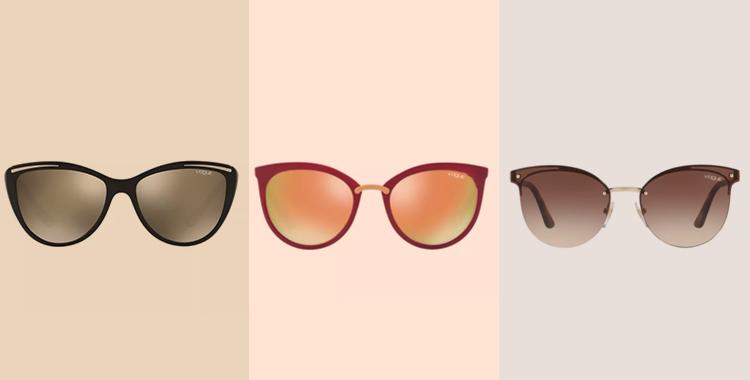Os óculos de sol estilo aviador também estão presentes na coleção da Vogue  na Oculum. Este estilo é um foi criado na década de 30, se tornando um dos  ... 1a098bf537