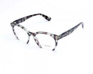 Miu Miu MU 09NV UAG-1O1 Óculos de Grau