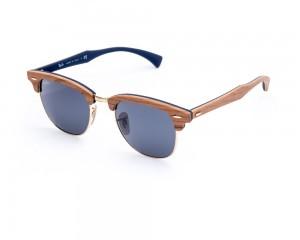 Ray Ban Clubmaster Wood RB3016-M 1180-R5 Óculos de Sol