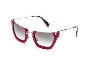 Miu Miu MU 12QS UA4-0A7 Wink Óculos de Sol