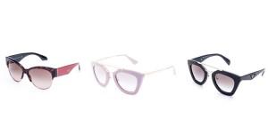 oculos da Prada loiro