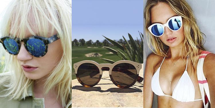 oculos de sol Illesteva celebridades