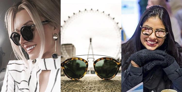 oculos de sol Ray Ban Gatsby retro