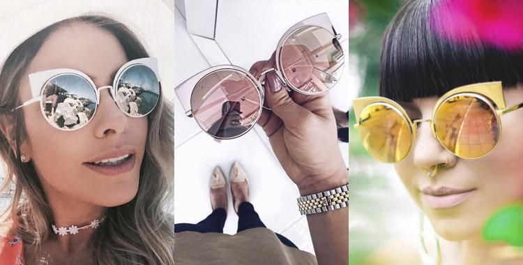 óculos de sol Fendi EyeShine FF 0177/S Z5D0J