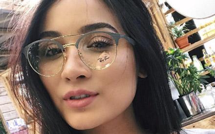 14676449f Óculos de grau Ray Ban, novos modelinhos de arrasar