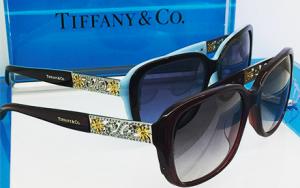 luxo dos óculos Tiffany and Co.
