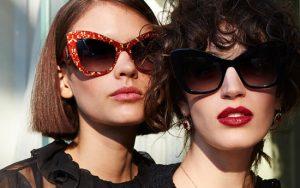 O luxo dos óculos escuros Dolce & Gabanna