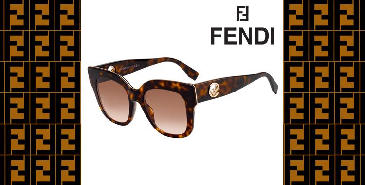 4e9b749e9 É um verdadeiro show de conceitos o modelo Fendi FF 0359GS 086M2 da Oculum,  e sem dúvidas é uma peça de vanguarda assinada pela marca italiana.